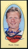 2011/12 Upper Deck Parkhurst Champions Champ's Mini Signatures #32 Mark Howe Autograph