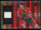 2009/10 Upper Deck SPx Spectrum #10 Jonathan Toews Jersey /25