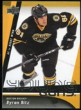 2009/10 Upper Deck #226 Byron Bitz YG RC
