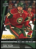 2009/10 Upper Deck #236 John Scott YG RC