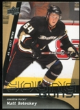 2009/10 Upper Deck #240 Matt Beleskey YG RC