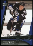 2009/10 Upper Deck #243 James Wright YG RC