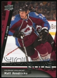 2009/10 Upper Deck #247 Matt Hendricks YG RC