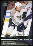 2009/10 Upper Deck #248 Mike Santorelli YG RC