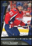 2009/10 Upper Deck #498 Mathieu Perreault YG RC