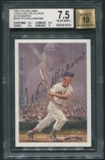 1993 Ted Williams Locklear Collection #AU9 Ted Williams Auto #143/406 BGS 7.5