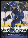 2008/09 Upper Deck #216 Chris Porter YG RC