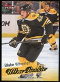 2008/09 Upper Deck Fleer Ultra #254 Blake Wheeler RC