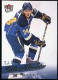 2008/09 Upper Deck Fleer Ultra #261 T.J. Oshie RC