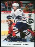 2006/07 Upper Deck Fleer Ultra #231 Patrick Thoreson RC