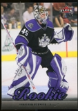 2007/08 Upper Deck Fleer Ultra #258 Jonathan Bernier RC