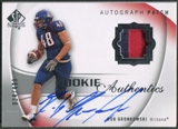 2010 SP Authentic #128 Rob Gronkowski Rookie Patch Auto #024/499
