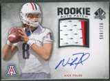 2012 SP Authentic #251 Nick Foles Rookie Patch Auto #831/885