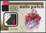 2011 SP Authentic #227 Torrey Smith Rookie Patch Auto #032/699