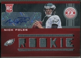 2012 Totally Certified #224 Nick Foles Rookie Jersey Auto #015/199