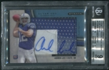 2012 Topps Strata #CCARAL Andrew Luck Clear Cut Rookie Patch Auto #24/75 BGS 9