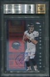 2012 Panini Contenders #207 Brock Osweiler Rookie Playoff Ticket Auto #86/99 BGS 9