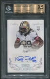 2013 Panini National Treasures #299 Khiry Robinson Rookie Auto #26/99 BGS 9.5
