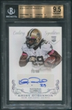 2013 Panini National Treasures #299 Khiry Robinson Rookie Auto #73/99 BGS 9.5 Auto 9