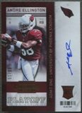 2013 Panini Contenders #202 Andre Ellington Rookie Playoff Ticket Auto #51/99
