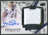 2013 Exquisite Collection #150 Manti Te'o Rookie Patch Auto #06/99