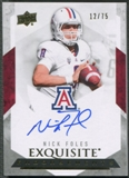 2012 Exquisite Collection #EENF Nick Foles Endorsements Rookie Auto #12/75