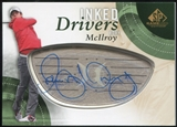 2014 Upper Deck SP Game Used Inked Drivers #IDRM Rory McIlroy B Autograph