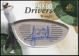 2014 Upper Deck SP Game Used Inked Drivers #IDTW Tiger Woods B Autograph