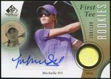 2014 Upper Deck SP Game Used #59 Michelle Wie Shirt RC Autograph 15/199