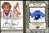 2012/13 Upper Deck Exquisite Collection Collegiate Seal Autographs #LB Larry Bird 7/45