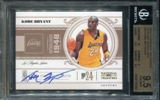 2010/11 Playoff National Treasures Century Signatures #42 Kobe Bryant 22/99 BGS 9.5