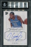 2012/13 Panini Flawless Memorable Marks #47 Kevin Durant Auto 25/25 BGS 9