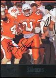 2011 Upper Deck College Legends Autographs #27 Barry Sanders SP Autograph