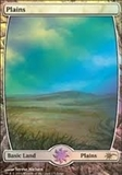 Magic the Gathering Promotional Single Plains (JUDGE) - SLIGHT PLAY (SP)