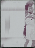 2013/14 Panini National Treasures #40 John Wall 2012/13 Immaculate Magenta Printing Plate #1/1