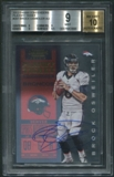 2012 Panini Contenders #207 Brock Osweiler Rookie Playoff Ticket Auto #05/99 BGS 9