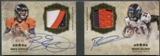 2012 Topps Five Star #FSFDAPOH Brock Osweiler & Ronnie Hillman Dual Rookie Patch Auto #02/15