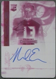 2014 Panini Contenders #236 Mike Evans Magenta Printing Plate Rookie Auto #1/1