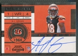 2011 Playoff Contenders #222A A.J. Green Rookie Auto