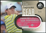 2014 Upper Deck SP Game Used Supreme Gear Shirts #SGSRM Rory McIlroy 1/3