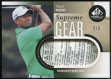 2014 Upper Deck SP Game Used Supreme Gear Shirts #SGSTW Tiger Woods 2/3