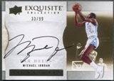 2012/13 Exquisite Collection #MI Michael Jordan Auto #33/99
