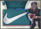 2014 Immaculate Collection #6 Blake Bortles Rookie Immaculate Standard Nike Brand Logo #2/2