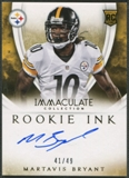 2014 Immaculate Collection #11 Martavis Bryant Rookie Ink Auto #41/49