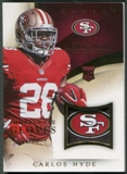 2014 Immaculate Collection #17 Carlos Hyde Rookie Gloves Team Logo #2/7