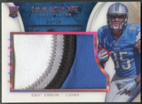 2014 Immaculate Collection #90 Eric Ebron Rookie Immaculate Standard Patch #02/10