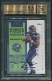 2012 Panini Contenders #225A Russell Wilson Rookie Auto BGS 9.5