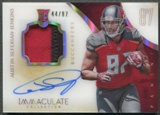 2014 Immaculate Collection #113 Austin Seferian-Jenkins Numbers Rookie Patch Auto #44/87