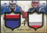 2014 Immaculate Collection #50 Jace Amaro Jarvis Landry Jimmy Garoppolo Sammy Watkins Fours Patch #01/10