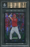 2011 Bowman Chrome #175 Mike Trout Rookie Refractor BGS 9.5